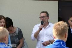 Uroczystość otwarcia szatni (03.06.2018)